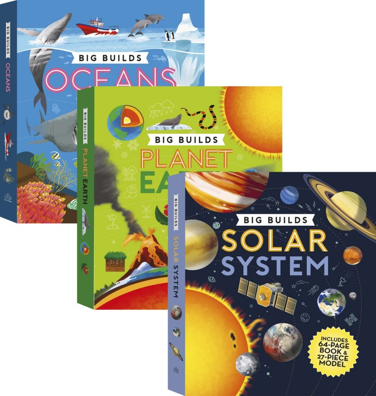 Big Builds: Oceans • Planet Earth • Solar System