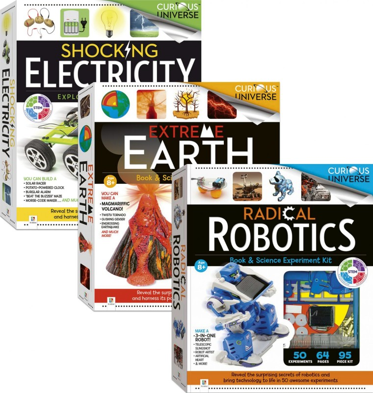 Curious Universe: Extreme Earth • Radical Robotics • Shocking Electricity