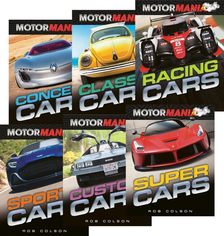 Motormania: Concept Cars • Classic Cars • Racing Cars • Sports Cars • Custom Cars • Super Cars