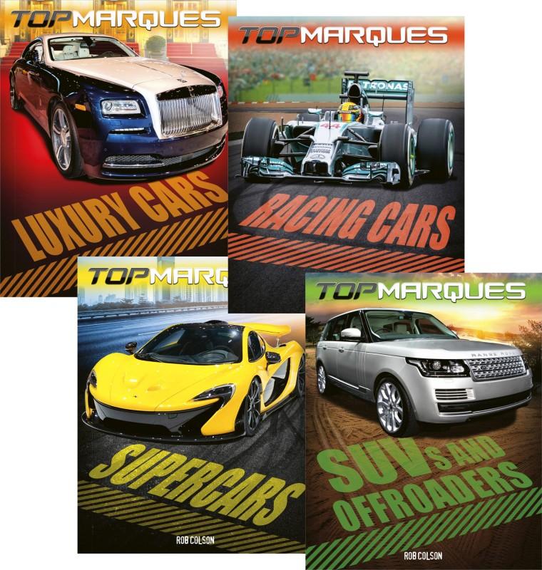 Top Marques: Luxury Cars • Racing Cars • Supercars • SUVs and Offroaders