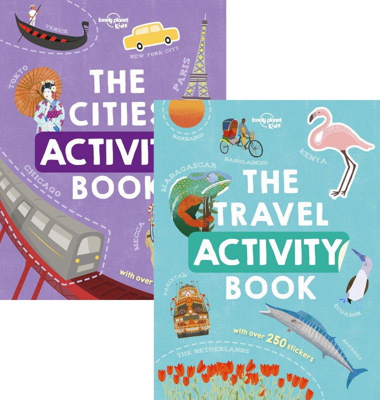 The Cities Activity Book • The Travel Activity Book