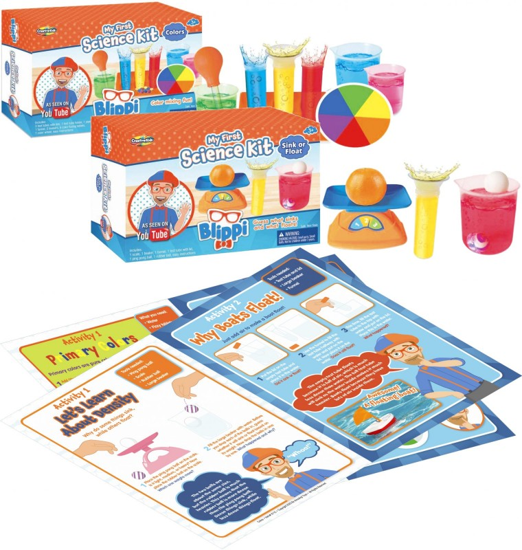 Blippi My First Science Kit: Colors • Sink or Float