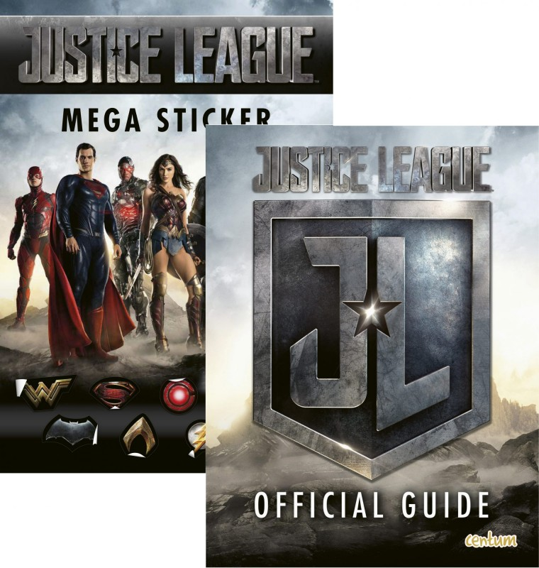 Justice League: Mega Sticker • Official Guide