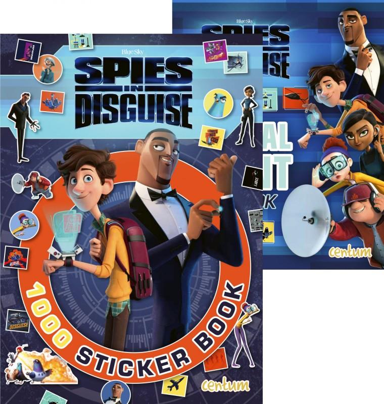 Spies in Disguise: 1000 Sticker Book • Special Agent Handbook