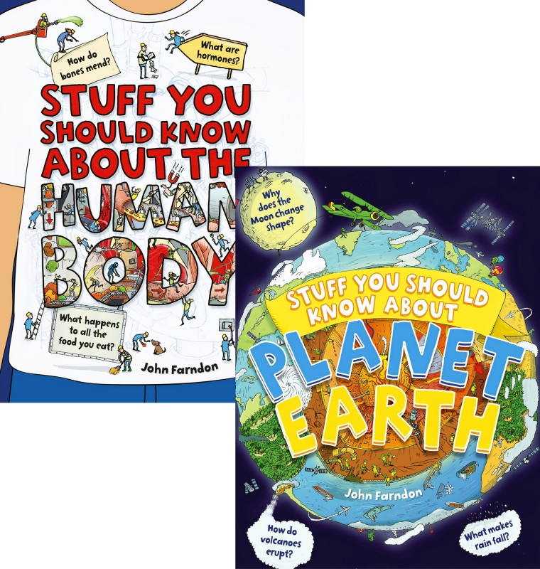 Stuff you Should Know About: The Human Body • Planet Earth