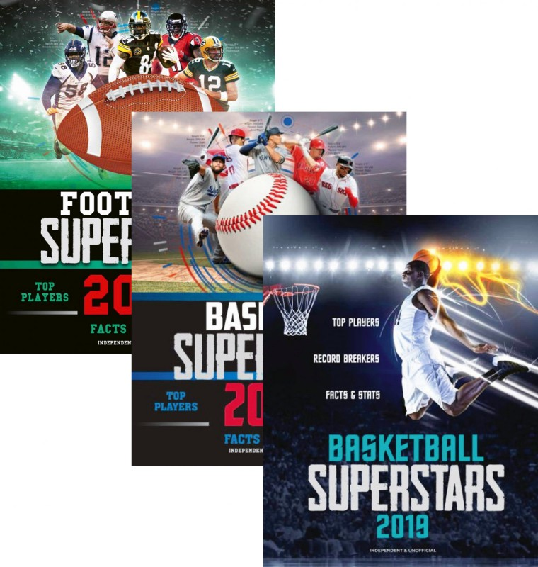 Football Superstars 2018 • Baseball Superstars 2019 • Basketball Superstars 2019