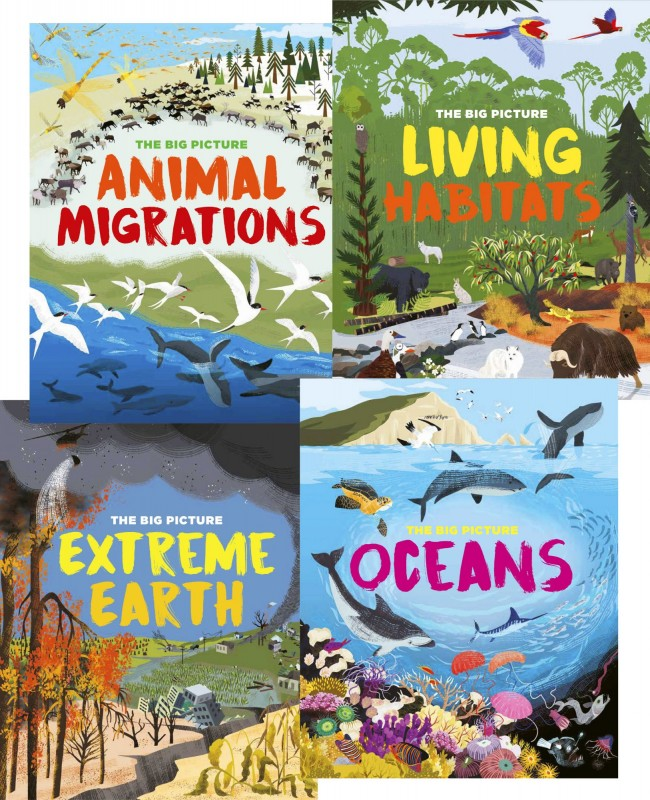 The Big Picture: Animal Migrations • Living Habitats • Extreme Earth • Oceans