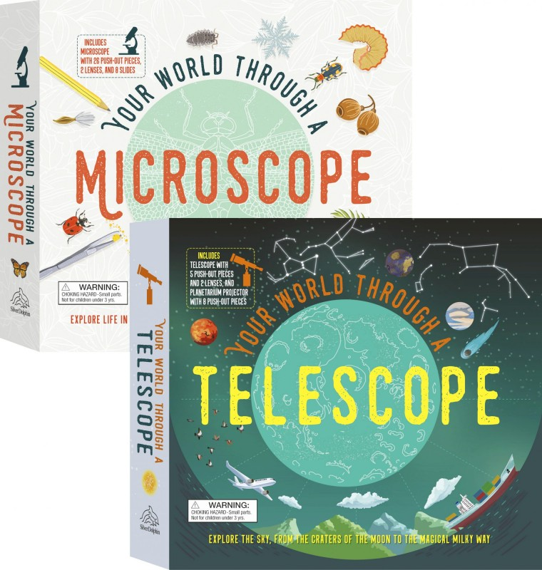 Your World Through a: Microscope • Telescope
